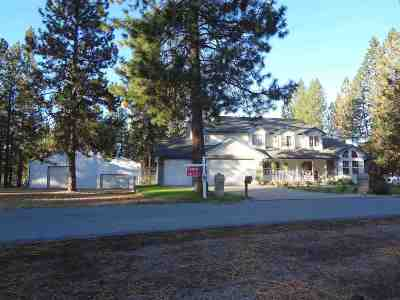 Nine Mile Falls WA Single Family Home Sold: $339,000