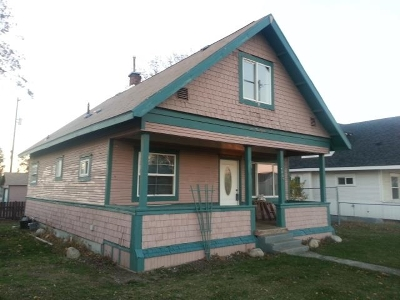 Spokane WA Single Family Home Leased: $84,900