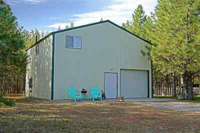 Spokane County, Stevens County Single Family Home Ctg-Sale Buyers Hm: 7594 Highway 291