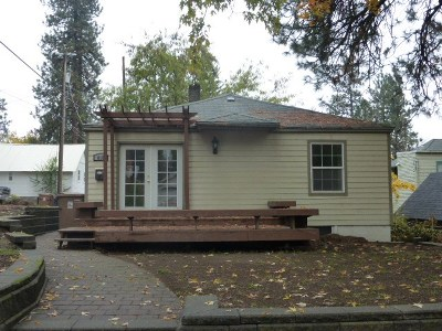 Spokane Single Family Home For Sale: 810 S Cannon St