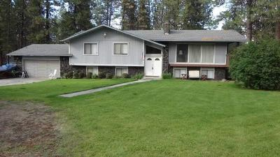 Nine Mile Falls WA Single Family Home Sold: $222,000