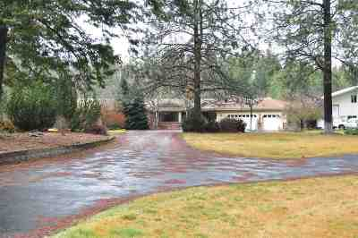 Spokane County, Stevens County Single Family Home Chg Price: 2511 E Deer Park Milan Rd