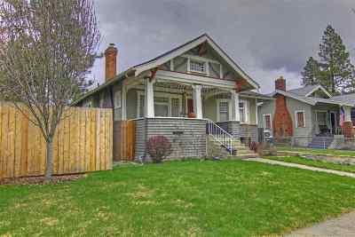 Spokane Single Family Home For Sale: 318 W 19th Ave