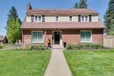 Spokane, Spokane Valley Single Family Home For Sale: 826 W 27th Ave