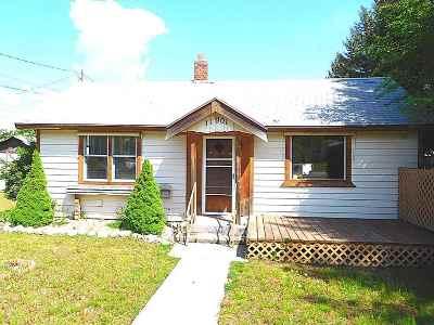 Spokane Valley Single Family Home For Sale: 11901 E 6th Ave