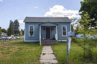 Spokane Single Family Home For Sale: 928 N Madelia St