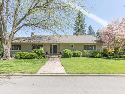 Spokane, Spokane Valley Single Family Home For Sale: 1311 S Ballou Rd