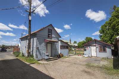 Spokane Single Family Home For Sale: 1411 W Montgomery Ave