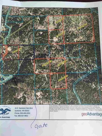 Chattaroy Residential Lots & Land For Sale: N Blanchard Creek