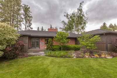Spokane Single Family Home For Sale: 1325 E Rockwood Blvd