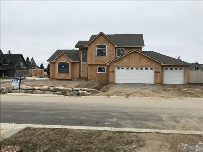 Spokane, Spokane Valley Single Family Home Chg Price: 16418 N Dakota Ln