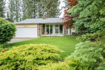 Spokane Valley Single Family Home For Sale: 3515 S Ridgeview Dr
