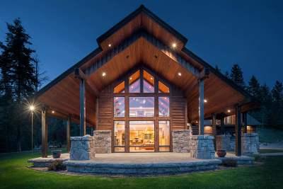 Bonner County, Kootenai County Single Family Home For Sale: 51 S Blue Creek Rd