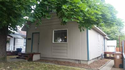 Spokane Single Family Home For Sale: 1009 E Heroy Ave