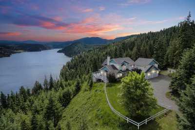 Bonner County, Kootenai County Single Family Home For Sale: 5370 E Lisa Rd