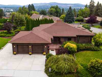Spokane Single Family Home Chg Price: 8522 E Columbia Park Dr