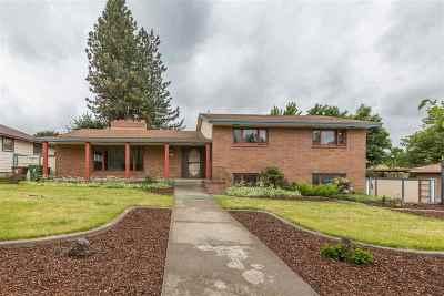 Spokane Single Family Home Chg Price: 2917 W Princeton Ave