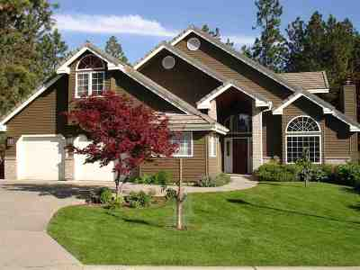 Spokane, Spokane Valley Single Family Home For Sale: 2006 S Overbluff Estates Ln