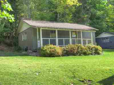 Spokane County, Stevens County Single Family Home For Sale: 3001 N Deep Lake Boundary Rd #Cabin #3