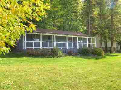 Single Family Home For Sale: 3001 N Deep Lake Boundary Rd #Cabin #4