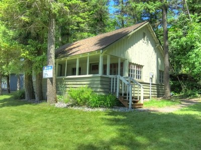 Single Family Home For Sale: 3001 N Deep Lake Boundary Rd #Cabin #5