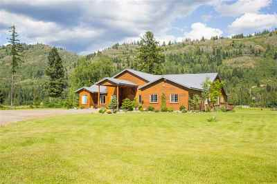 Pend Oreille County Single Family Home For Sale: 121 Waterview Dr