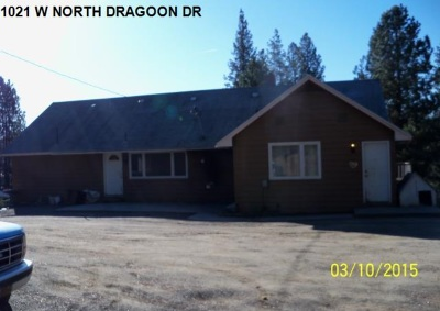 Single Family Home Ctg-Inspection: 1021 W North Dragoon Dr
