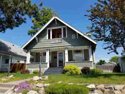Spokane Single Family Home Chg Price: 824 W Kiernan Ave