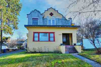 Spokane Single Family Home For Sale: 1115 S Cedar St