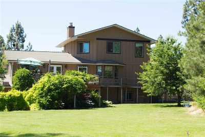 Spokane, Spokane Valley Single Family Home For Sale: 6204 W Greenwood Rd