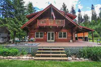 Spokane County, Stevens County Single Family Home For Sale: 3733 K Sand Creek Rd