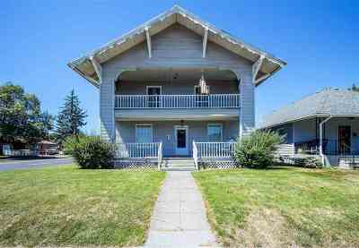 Spokane Single Family Home Bom: 4703 N Cook St
