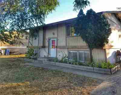 Spokane Valley Single Family Home For Sale: 1815 N Raymond Rd