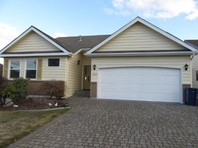 Spokane Valley Single Family Home For Sale: 8702 E Boardwalk Ln