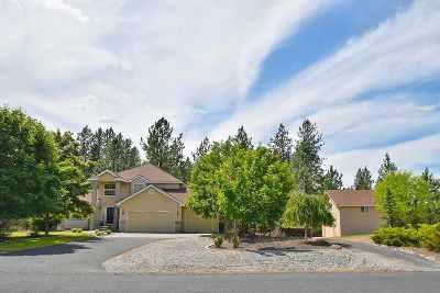 Colbert Single Family Home Bom: 18209 N Saddle Hill Rd