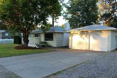 Spokane Valley Single Family Home For Sale: 1607 S McCabe Rd