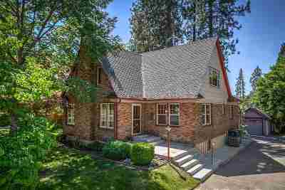 Spokane Single Family Home For Sale: 2614 S Lincoln St