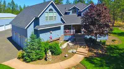 Colbert Single Family Home For Sale: 19110 N Leslie Ln