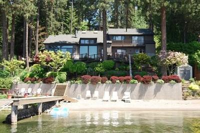Bonner County, Kootenai County Single Family Home For Sale: 3431 S Walkers Bay Rd