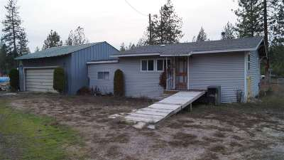 Spokane County, Stevens County Single Family Home Ctg-Inspection: 5610 N Corkscrew Canyon Rd
