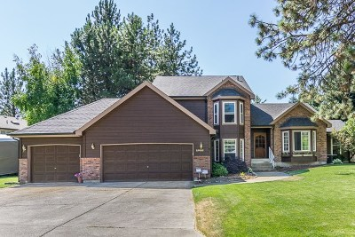 Spokane Single Family Home New: 15405 N Addison Ct