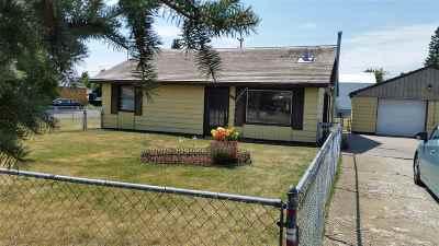 Airway Heights WA Single Family Home New: $130,000