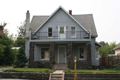 Spokane Single Family Home New: 423 W Dalton Ave