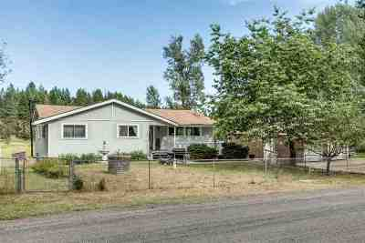 Spokane County, Stevens County Single Family Home Ctg-Inspection: 12415 S Starr Rd