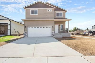 Colbert Single Family Home For Sale: 17216 N Nevada Ln