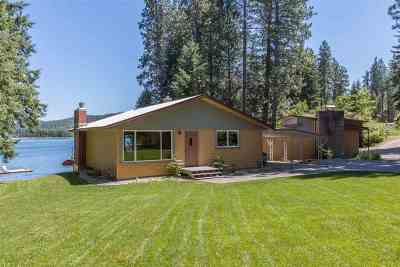 Bonner County, Kootenai County Single Family Home For Sale: 12025/21 W Riverview Dr