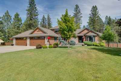 Colbert Single Family Home For Sale: 18118 N Kimberly Rd