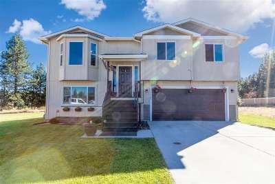 Colbert Single Family Home For Sale: 17107 N Dakota Ln