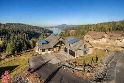 Bonner County, Kootenai County Single Family Home For Sale: 5175 S Ledgestone Dr
