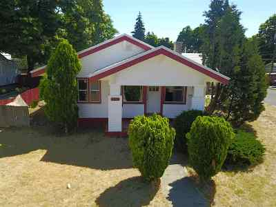 Spokane Single Family Home For Sale: 2504 N Pittsburg St